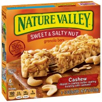 Nature Valley Sweet & Salty Nut Granola Bars Cashew - 6 ct
