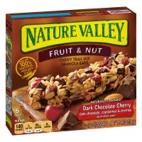Nature Valley Trail Mix Dark Chocolate And Nut Chewy Granola Cherry - 6 ct