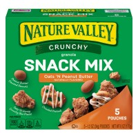 Nature Valley Crunchy Granola Snack Mix Oats 'N Peanut Butter - 5 ct