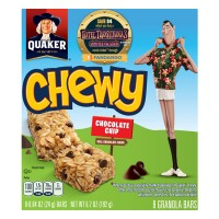 Quaker Chewy Chocolate Chip Granola Bars - 8 ct
