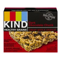 KIND Healthy Grains Granola Bar Dark Chocolate Chunk - 5 ct