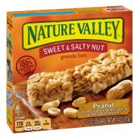 Nature Valley Sweet & Salty Nut Granola Bars Peanut - 6 ct