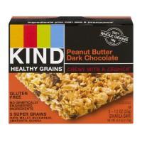 KIND Healthy Grains Granola Bars Peanut Butter Dark Chocolate - 5 ct