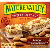 Nature Valley Sweet & Salty Nut Granola Bars Almond - 6 ct