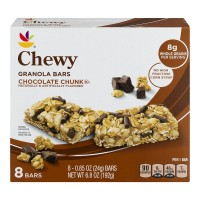 Stop & Shop Chewy Granola Bars Chocolate Chunk - 8 ct