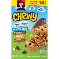 Quaker Chewy Granola Bars Variety Pack - 18 ct