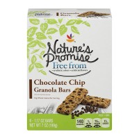 Nature's Promise Free from Granola Bars Chocolate Chip - 6 ct