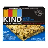 KIND Healthy Grains Granola Bar Vanilla Blueberry - 5 ct