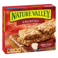 Nature Valley Crunchy Granola Bars Apple Crisp 100% Natural - 12 ct