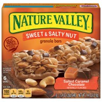Nature Valley Sweet & Salty Nut Granola Bars Salted Caramel Chocolate 6 ct