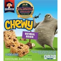 Quaker Chewy Oatmeal Raisin Granola Bars - 8 ct