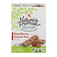 Nature's Promise Free from Granola Bars Strawberry - 6 ct