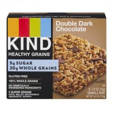 KIND Healthy Grains Granola Bars Double Dark Chocolate - 5 ct