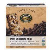 Nature's Path Chewy Granola Bars Dark Choc Chip Gluten Free Organic - 5 ct
