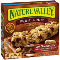 Nature Valley Chewy Trail Mix Bars Dark Chocolate & Nut - 6 ct