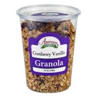 Aurora Natural Granola Cranberry Vanilla