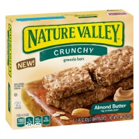 Nature Valley Crunchy Granola Bars Almond Butter - 12 ct
