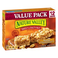 Nature Valley Sweet & Salty Nut Granola Bars Peanut - 12 ct