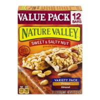 Nature Valley Sweet & Salty Nut Granola Bars Variety Pack - 12 ct