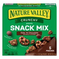 Nature Valley Crunchy Granola Snack Mix Oats 'N Chocolate - 5 ct