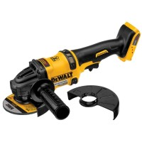 DEWALT FLEXVOLT 60-Volt MAX Lithium-Ion Cordless Brushless 4-1/2 in. Angle Grinder with Kickback Brake (Tool-Only)