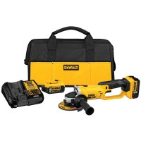 DEWALT 20-Volt MAX Lithium-Ion Cordless Cut-Off Tool Kit with (2) Batteries 5Ah, Charger and Contractor Bag