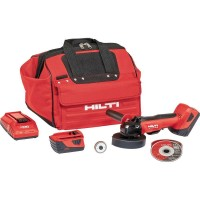 Hilti AG 500 22-Volt Cordless Brushless 5 in. Angle Grinder Kit