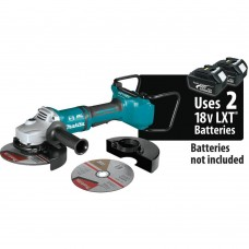 Makita 18-Volt X2 LXT Lithium-Ion 36V Brushless Cordless 7 in. Paddle Switch Cut-Off/Angle Grinder w/ Electric Brake Tool Only