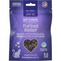 Get Naked Furball Relief Treats for Cats, 2.5 oz.