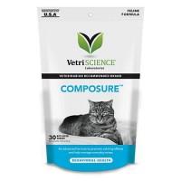 VetriScience Composure Feline Bite-Sized Chews, 30 count