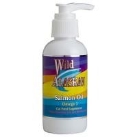 Wild Alaskan Salmon Oil Cat Food Supplement