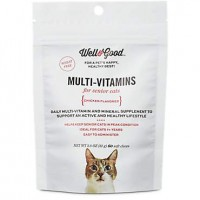Well & Good Multi Vitamin for Senior Cats, 60 ct