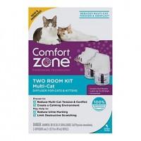 Comfort Zone Multicat Control Diffuser Kit, 3.24 fl. oz., Pack of 2