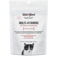 Well & Good Multi Vitamin for Cats, 60 ct