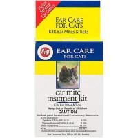 R-7M Ear Mite Cat Treatment Kit, 2 oz.