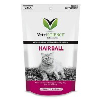 VetriScience Hairball Soft Chews, 60 Count