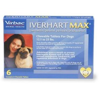 Iverhart Max Chewable Tablets for Dogs 12 to 25 lbs., 6 Pack