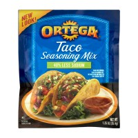 Ortega Seasoning Mix Taco 40% Less Sodium