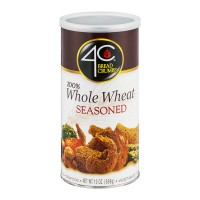 4C Bread Crumbs Seasoned 100% Whole Wheat