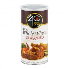 4C Bread Crumbs Seasoned 100% Whole Wheat