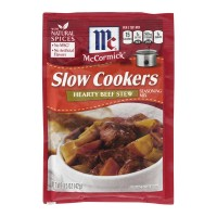McCormick Slow Cookers Seasoning Mix Hearty Beef Stew