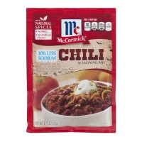 McCormick Seasoning Mix Chili 30% Less Sodium