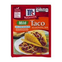 McCormick Seasoning Mix Taco Mild 30% Less Sodium