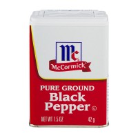 McCormick Black Pepper Pure Ground