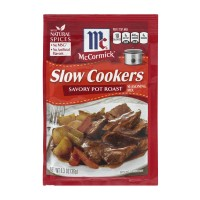 McCormick Slow Cookers Seasoning Mix Savory Pot Roast