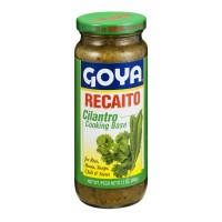 Goya Recaito Cilantro Cooking Base for Rice, Beans, Soups, Chili & Stews