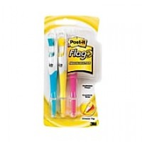 Post-it® Flag + Highlighter, Assorted Colors, 150 Flags/Pack, 3 Highlighters/Pack (689-HL3)