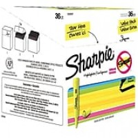 Sanford Sharpie Tank Style Fluorescent Highlighter, Yellow