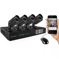 Amcrest 720P HD Over Analog (HDCVI) 4CH Video Security System