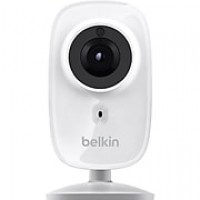 Belkin NetCam HD WiFi Camera with Night Vision, White